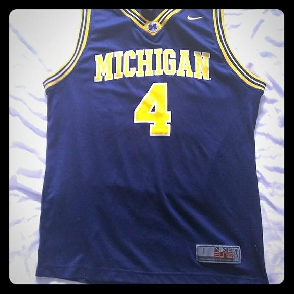 Nike Shirts Michigan 4 Chris Webber Basketball Jersey Poshmark